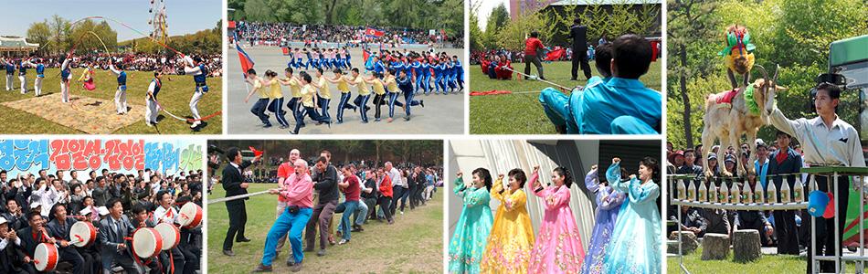 5・1節メーデー記念 各地で多彩な国際交歓会